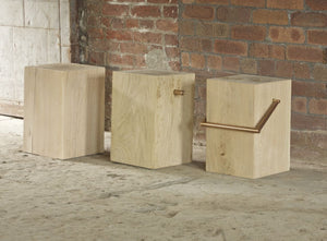 KLINT Solid Oak Stool