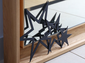 NEVE Black Aluminium Hanging Star