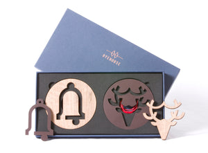 NEVE Tree Decoration Gift Set | Stag & Bell