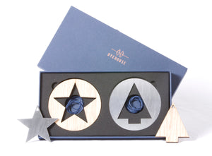 NEVE Tree Decoration Gift Set | Solid Tree & Star