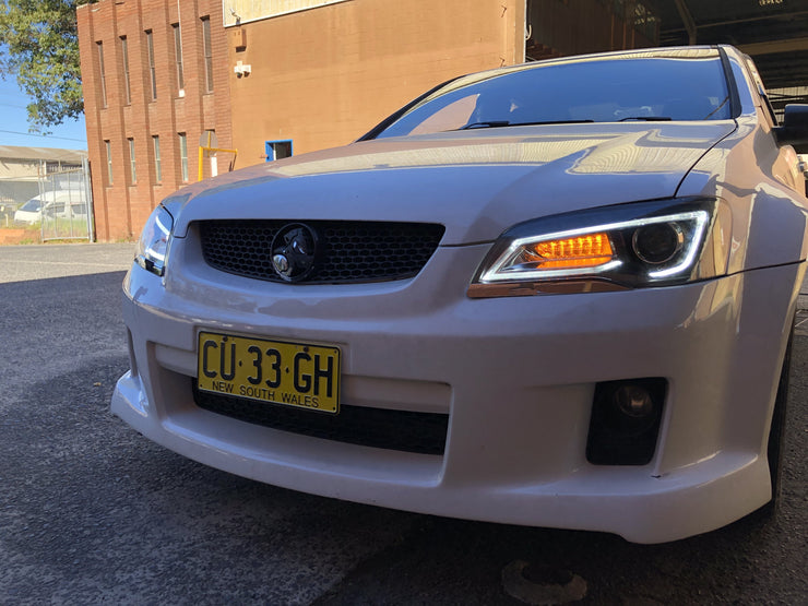Holden VE LED DRL Headlights 2006-2013