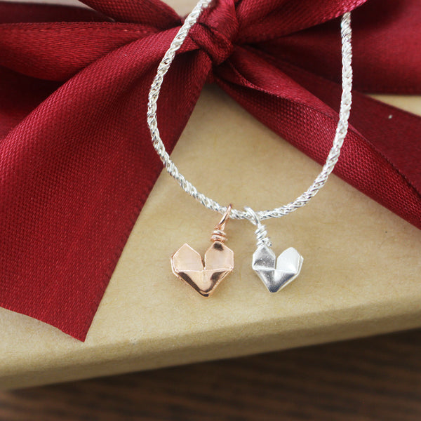 Teeny Tiny Baby Hearts Bracelet