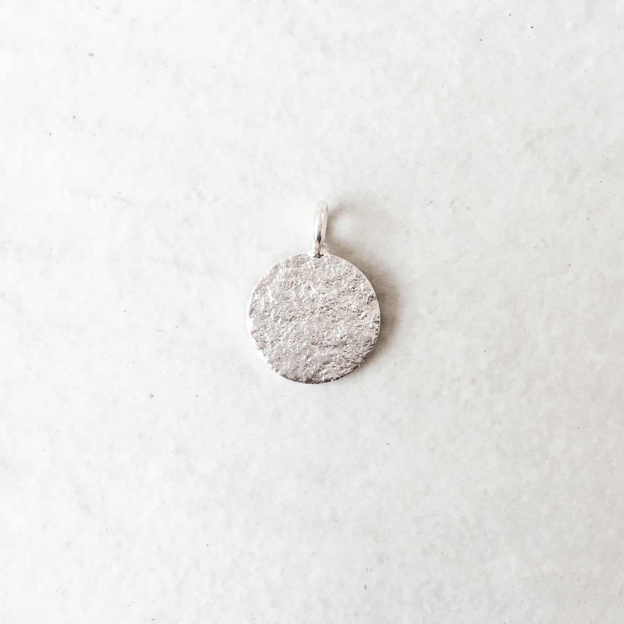 Silver Charm with Engraving (Complementary item for existing purchase)