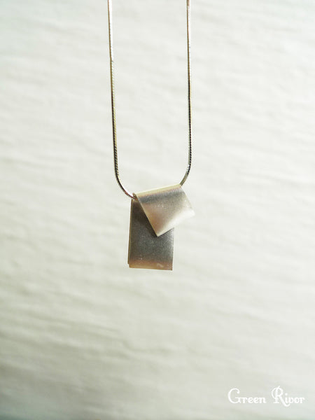 Origami Post-It Necklace - Small
