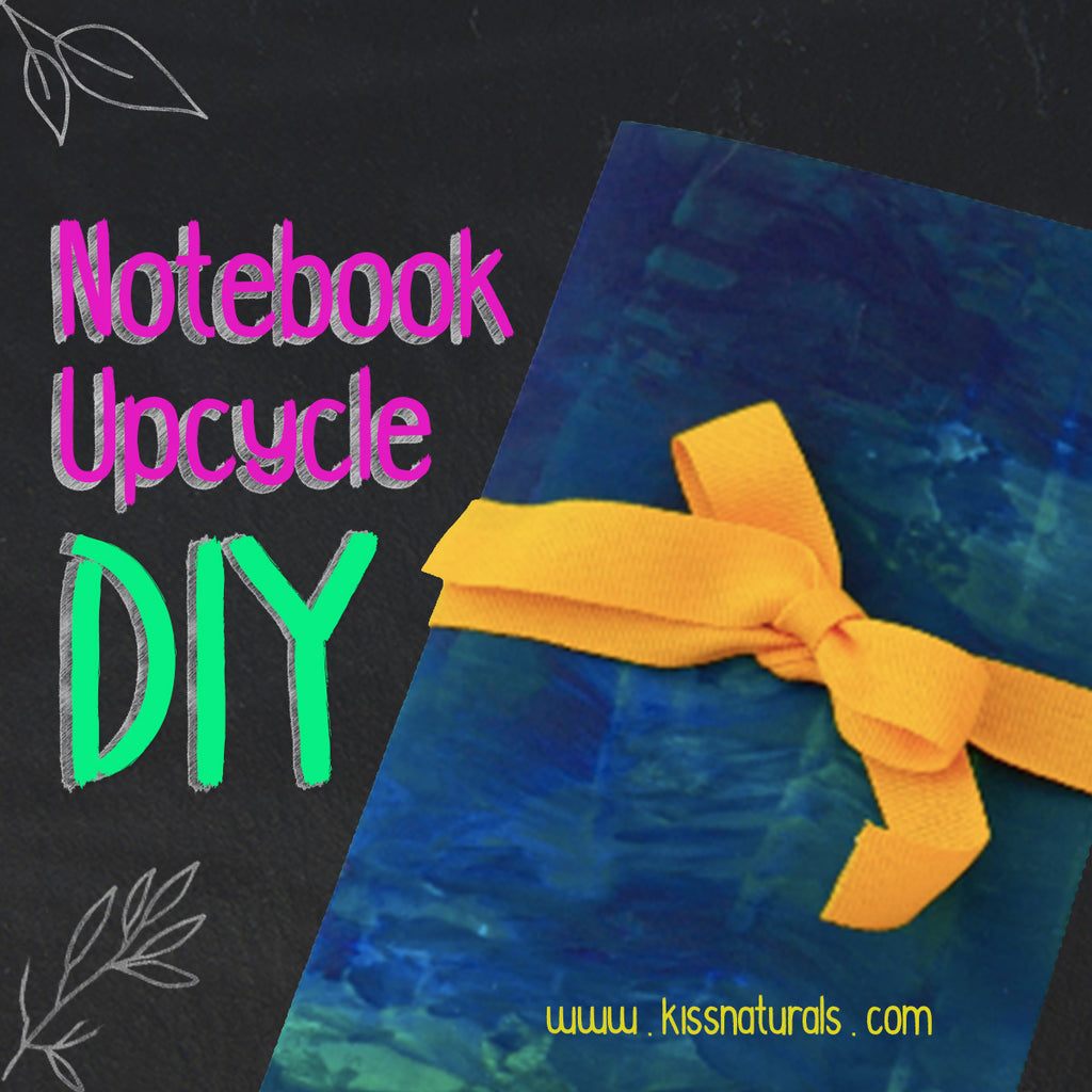 DIY Upcycled Notebook!