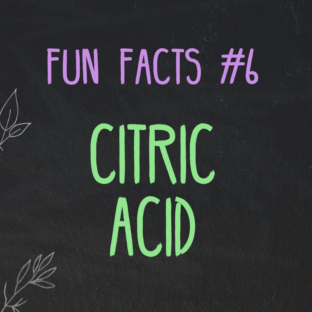 Fun Facts about Citric Acid