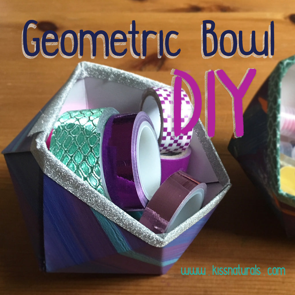 DIY Geometric Box Upcycle