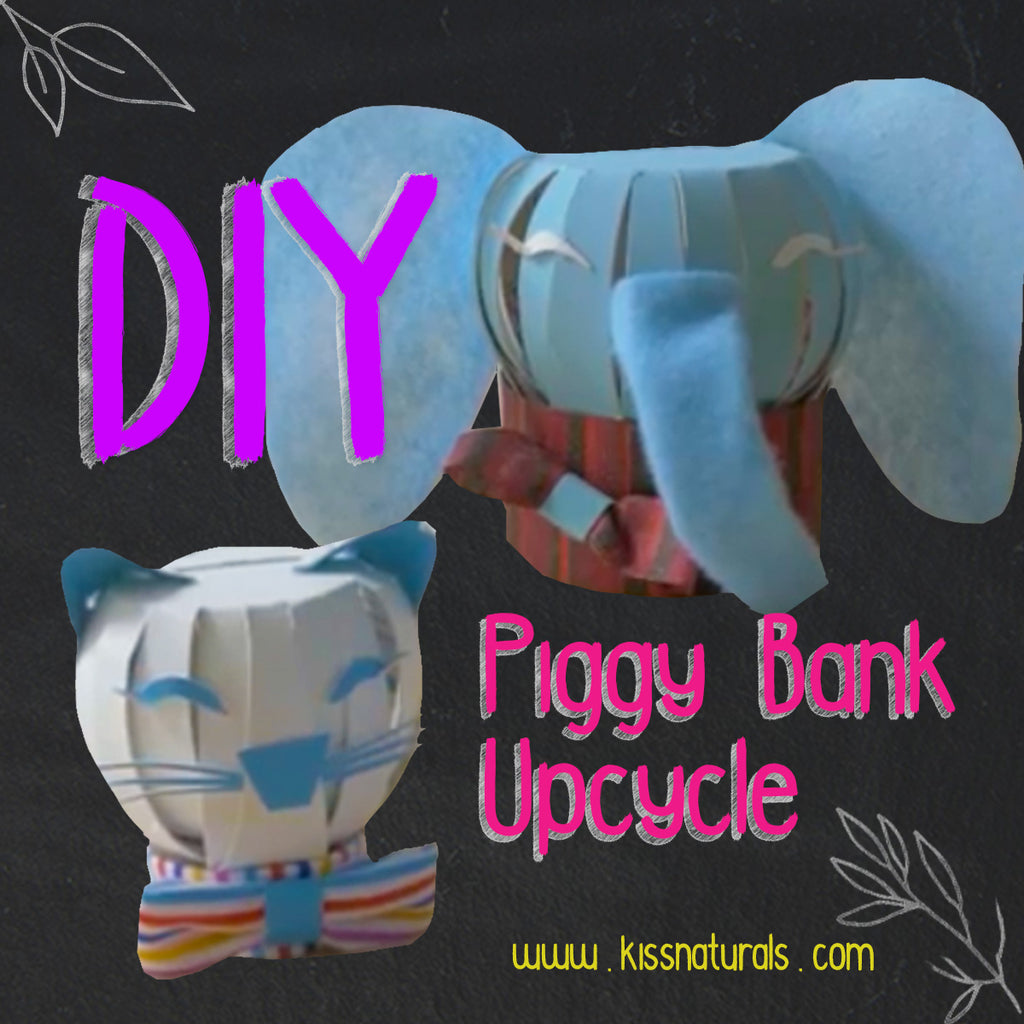 DIY Piggy Bank Upcycle