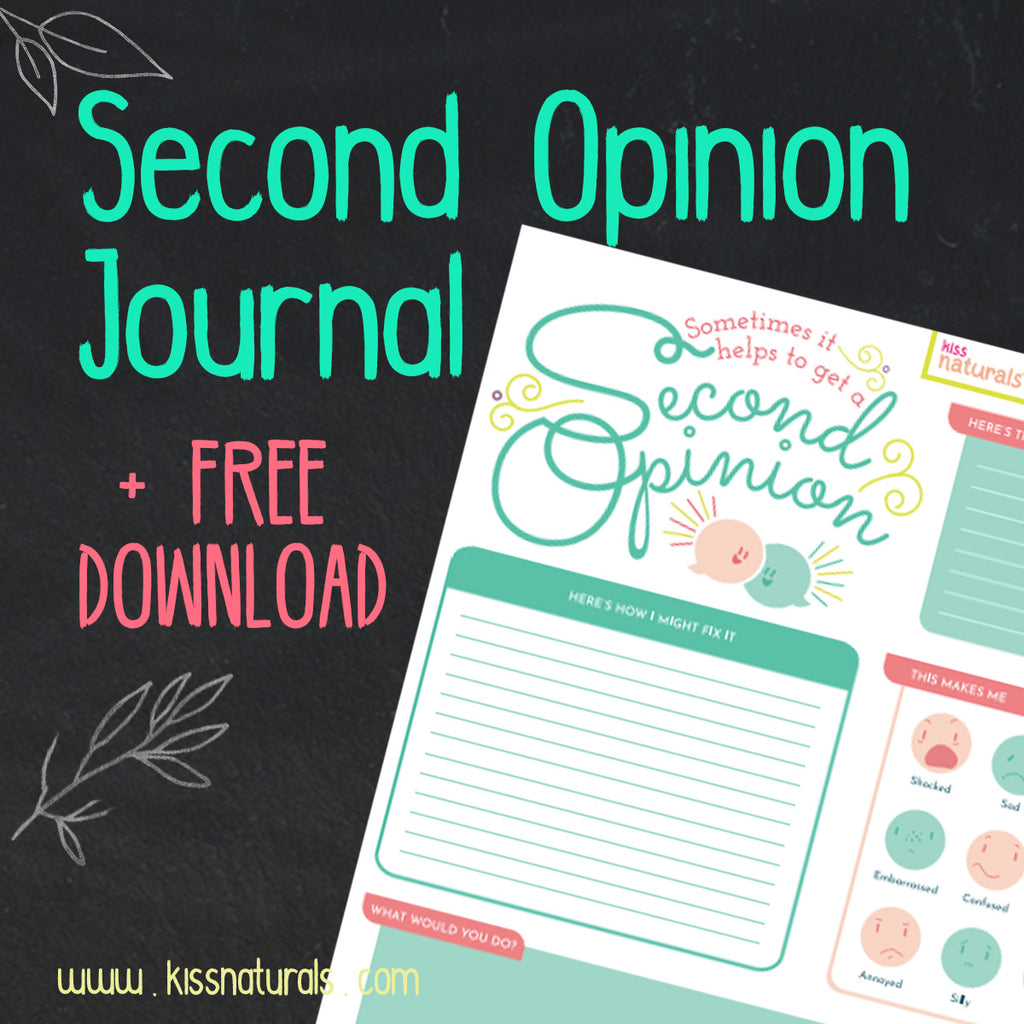 Sometimes It Helps to Get a Second Opinion + FREE Printable