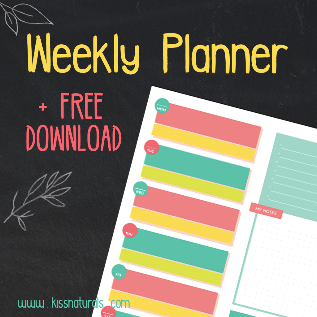 Weekly Journal + Free Download