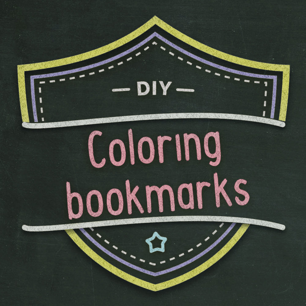 Free Coloring Bookmark Craft + TWO Printables