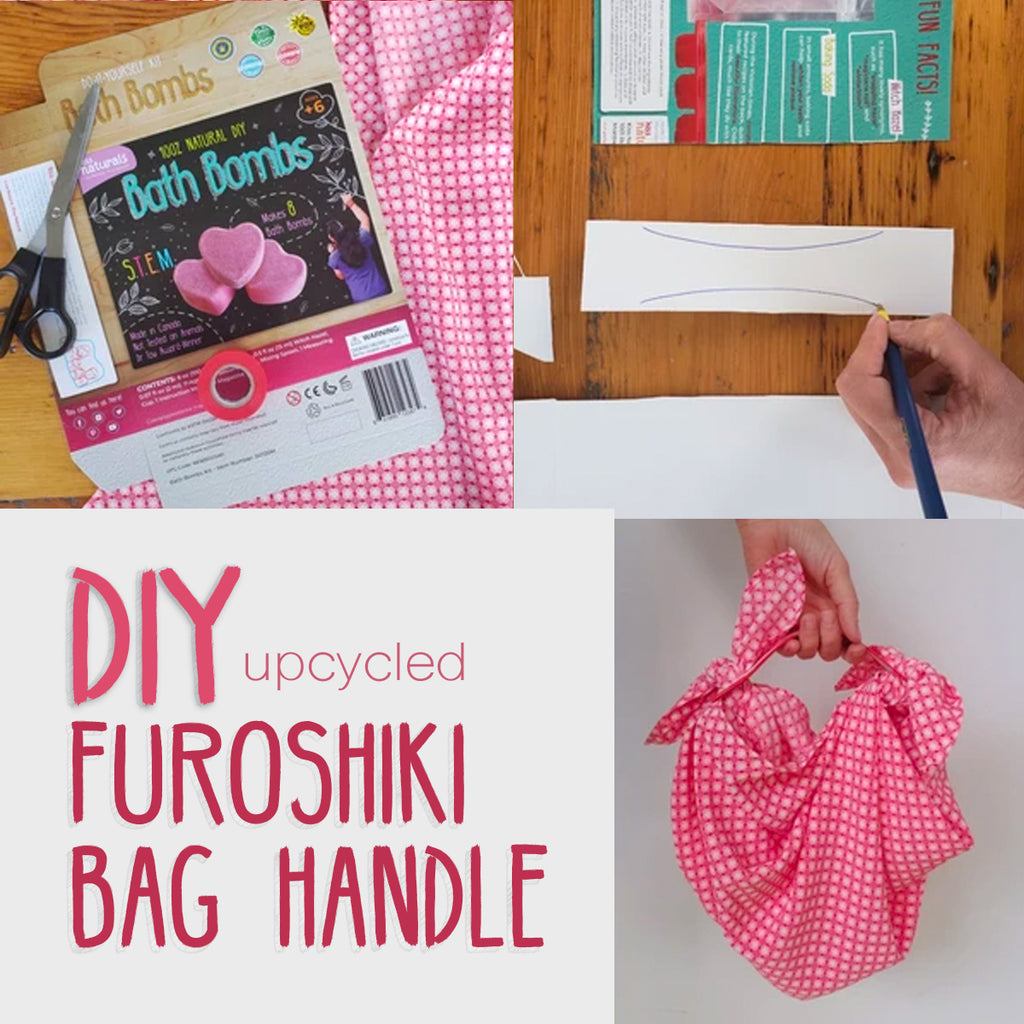 Furoshiki Handle Upcycle