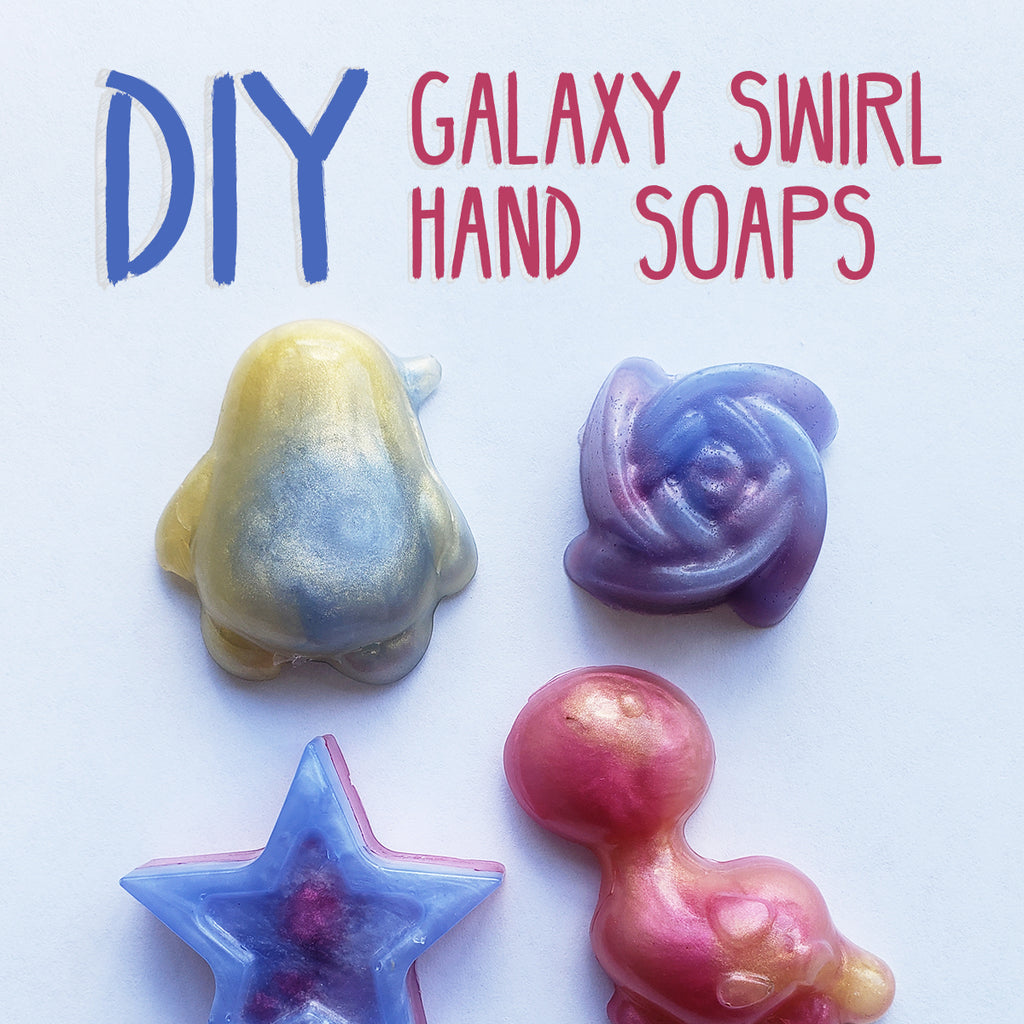 DIY Galaxy Soap!