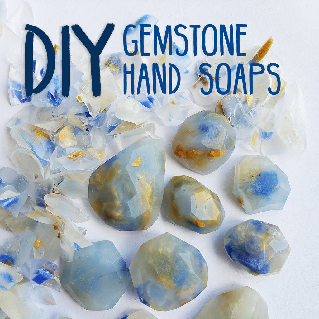 How to Make your Own Gemstone Soap!