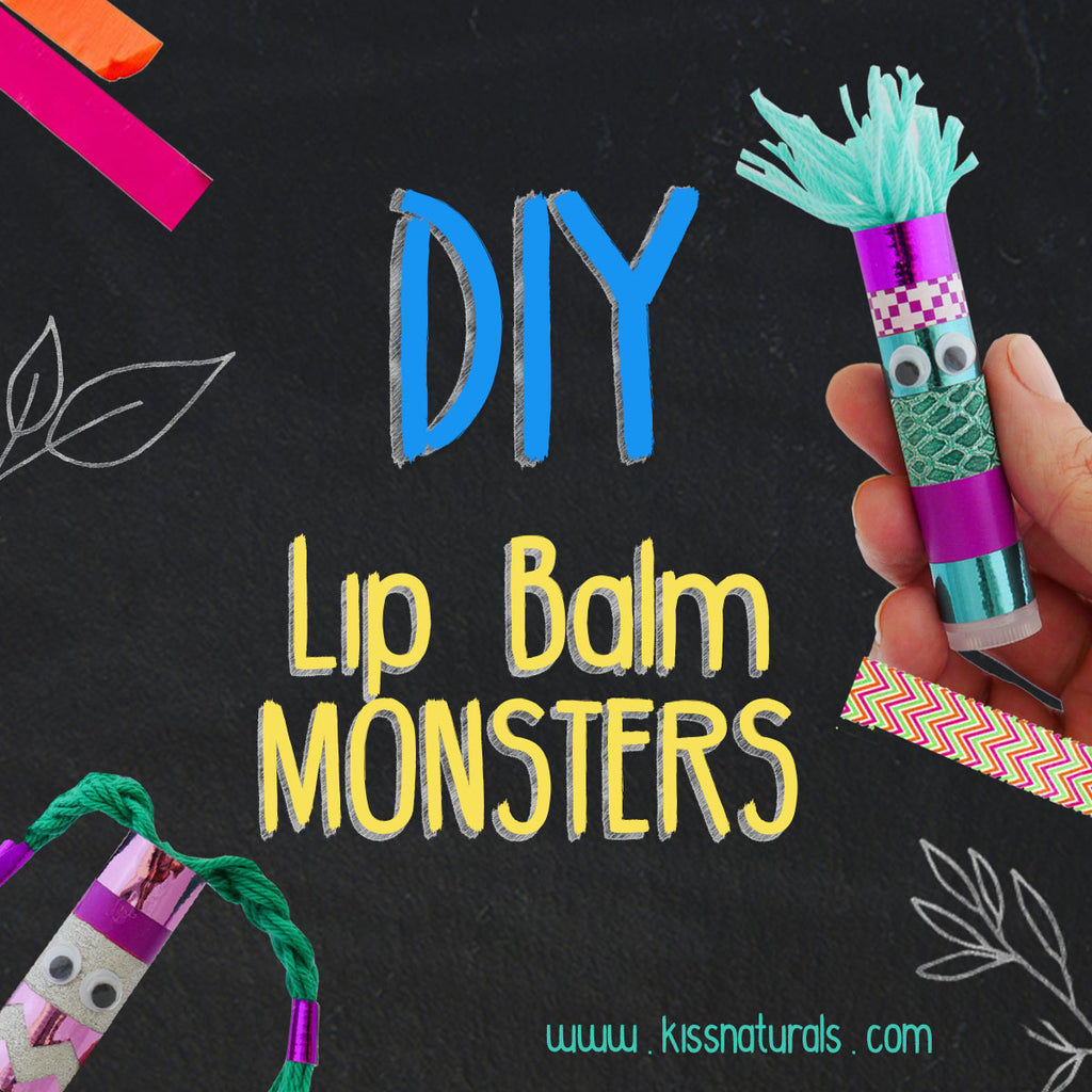 DIY Lip Balm Monsters