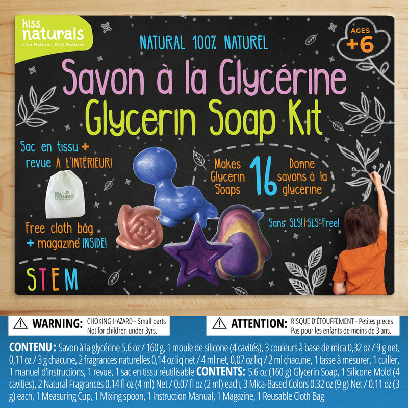 DIY Glycerin Soap Kit - Charity Edition CDN