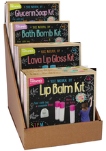 Load image into Gallery viewer, Cardboard displayer can hold 8 Kiss Naturals Kits