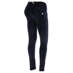 WR.UP® Regular Waist Velour Navy Blå (B94)