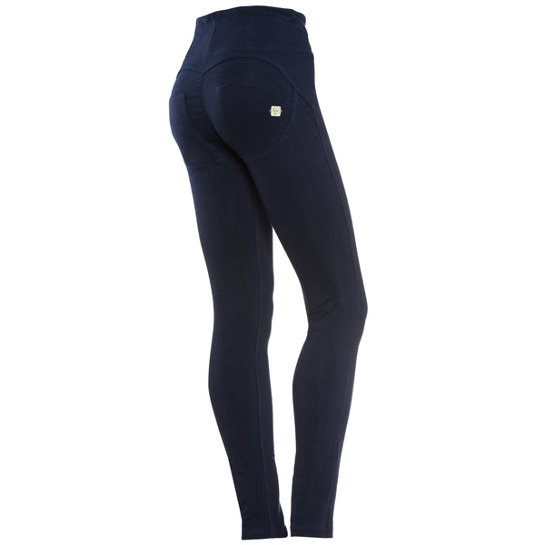 WR.UP® High Waist Skinny Fit Navy Blå (B94)