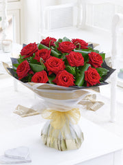 Grand Prix Rose Hand-tied