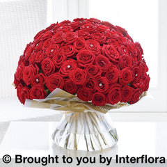 Ultimate 100 Grand Prix Rose Hand-tied