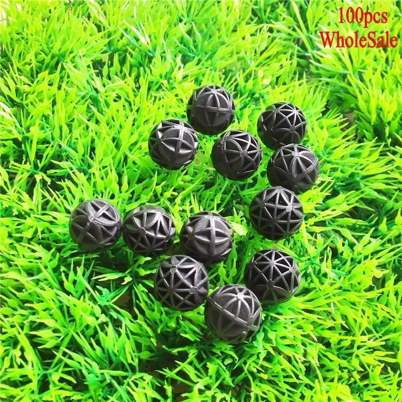 100 pcs Aquarium Bio Balls Filter Filters Pet Clever