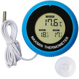 2 in 1 LCD Display Digital Aquarium Thermometer with Suction Cup Aquarium Thermometer Pet Clever