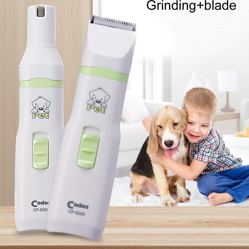 2 in 1 Pet Clipper and Nail Grinder Kit Haircut Pet Clever
