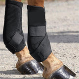 2 Pcs Horse Adjustable Leg Protector Harness Horse Boots and Wraps Pet Clever