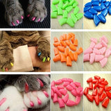20pcs Of Soft Colorful Nail Caps Cat Care & Grooming Pet Clever