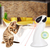 360 Degree Automatic Interactive Cat Light Exercise Dart Laser Teaser Toy Cat Toys Pet Clever