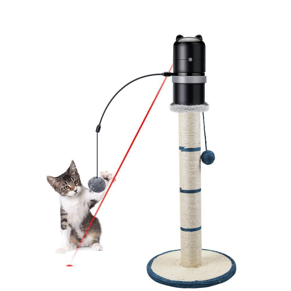 360 Degree Rotating Laser Cat Toy Toys Pet Clever
