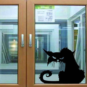 3D Black Cat Vinyl Decals Home Decor Cats Pet Clever