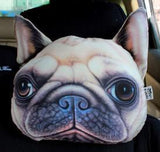 3D Car Head Neck Cushion Dog Pillow Dog Design Accessories Pet Clever Model 4