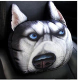 3D Car Head Neck Cushion Dog Pillow Dog Design Accessories Pet Clever Model 1