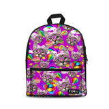 3D Cat BackPack Bag With Laptop Compartment Cat Design Bags Pet Clever Balloon Cat