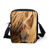 3D Crossbody Horse Printing Shoulder Bag Horse Design Bags Pet Clever 29