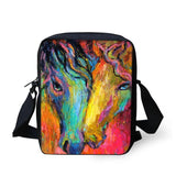3D Crossbody Horse Printing Shoulder Bag Horse Design Bags Pet Clever 21
