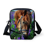 3D Crossbody Horse Printing Shoulder Bag Horse Design Bags Pet Clever 12