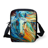 3D Crossbody Horse Printing Shoulder Bag Horse Design Bags Pet Clever 20