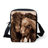 3D Crossbody Horse Printing Shoulder Bag Horse Design Bags Pet Clever 9