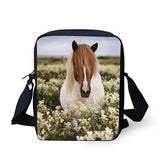 3D Crossbody Horse Printing Shoulder Bag Horse Design Bags Pet Clever 8