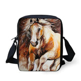 3D Crossbody Horse Printing Shoulder Bag Horse Design Bags Pet Clever 27
