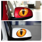 3D Cute Cat Eyes Car Sticker Home Decor Cats Pet Clever