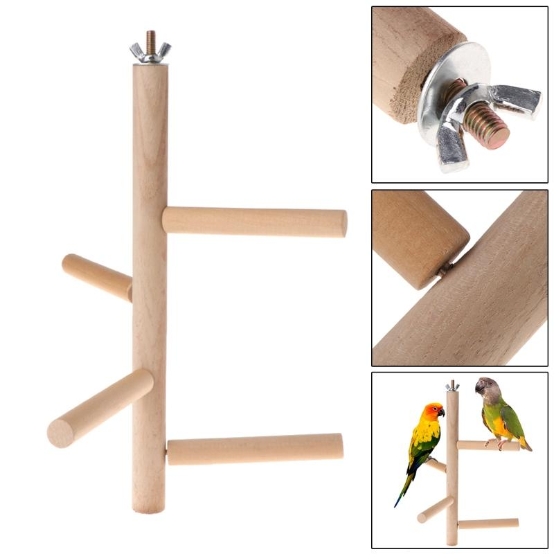 4 Layer Stages Bird Perch Bird Perch Pet Clever