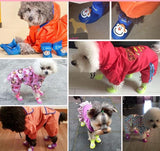 4 Pcs/Set Pet Adorable Monkey Design Rain Boots Shoes Pet Clever