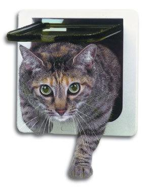 4 Ways Lockable Cat Door Cover Cat Care & Grooming Pet Clever