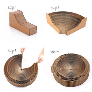A Scratcher and A Lounge For Your Lovely Cat Cat Beds & Baskets Pet Clever