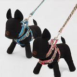 Adjustable Dog Control Collar Harness Set Pet Leash Dog Leads & Collars Pet Clever