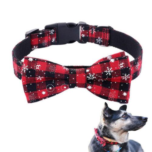 Adjustable Pet Christmas Collar Toys Pet Clever